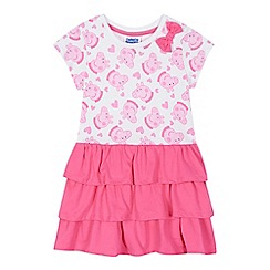 Peppa Pig - Girls' pink 'Peppa Pig' rara dress