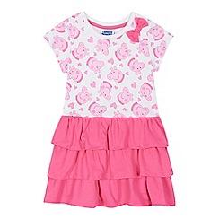 Peppa Pig - Girls' pink 'Peppa Pig' rara dress