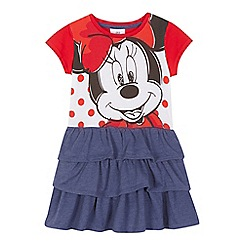 Minnie Mouse - Girls' red 'Minnie Mouse' rara dress