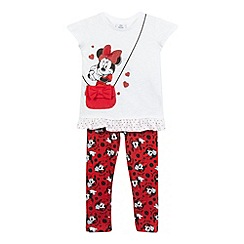 Minnie Mouse - Girls' red 'Minnie' set