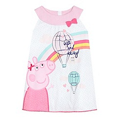 Peppa Pig - Girls' pink 'Peppa Pig' jersey dress