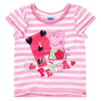 Character Girls pink P is for Peppa t-shirt product image