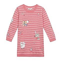 bluezoo - Girls' pink animal print top