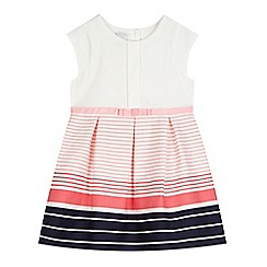 J by Jasper Conran - Girls' white striped dress