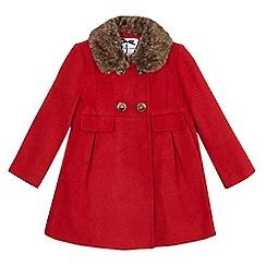 J by Jasper Conran - Girls' formal red coat
