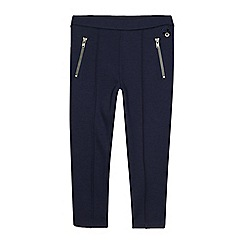 J by Jasper Conran - Girls' navy zip jeggings