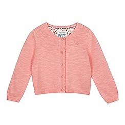 Mantaray - Girls' pink cardigan