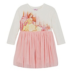 Disney Princess - Girls' white and pink 'Beauty and the Beast' dress