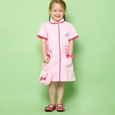 bluezoo - Girl+s pink beautician dress up costume