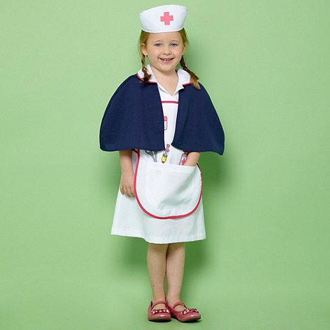 bluezoo - Girl+s blue nurse dress up costume