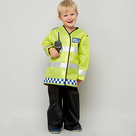 bluezoo - Boy+s multi policeman dress up outfit