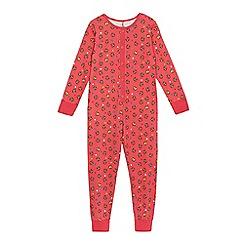 BBC Children In Need - BBC Children In Need girls' pink 'Pudsey' print onesie