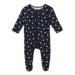 BBC Children In Need - Baby boys' navy BBC Children In Need'Pudsey' sleepsuit