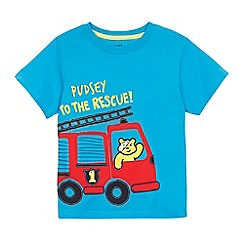 BBC Children In Need - Children's 'Pudsey' fire truck applique t-shirt