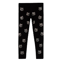 BBC Children In Need - Girls' 'Pudsey' diamante leggings