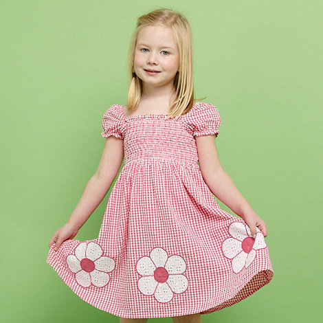 bluezoo - Girl+s pink daisy dress