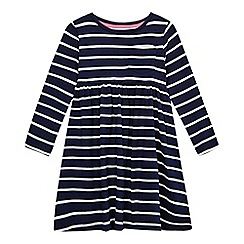 bluezoo - Girls' navy striped dress