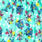 bluezoo - Girl+s light green floral shirred dress Alternative 2
