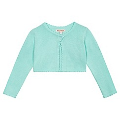 bluezoo - Girls' light green cardigan