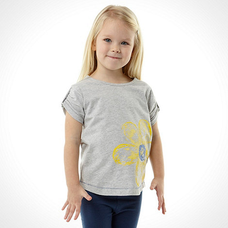 bluezoo - Girl+s pack of two petal t-shirt