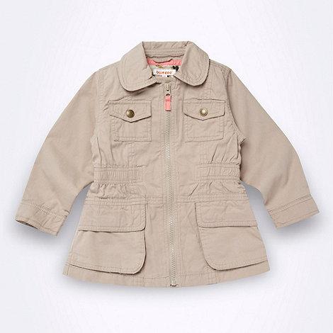 bluezoo - Girl+s beige peter pan collared jacket
