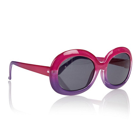 bluezoo - Girls+ pink graduating oval sunglasses