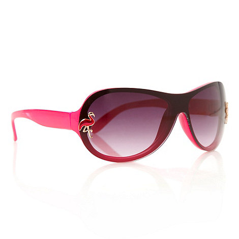 bluezoo - Girl+s pink wrap sunglasses