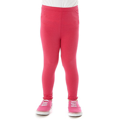 bluezoo - Girls+ pink essential leggings