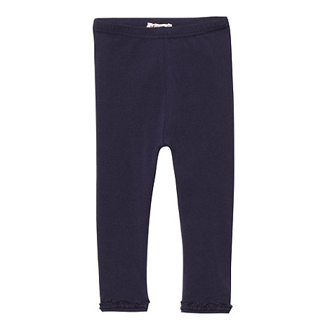 bluezoo - Girls+ navy essential leggings