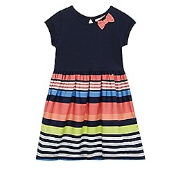 bluezoo - Girls' multi-coloured stipe print dress