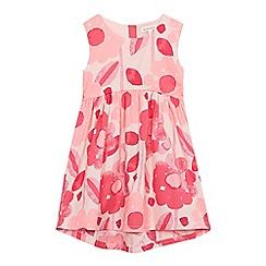 bluezoo - Girls' pink flower print dress