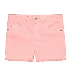 bluezoo - Girls' pink denim shorts