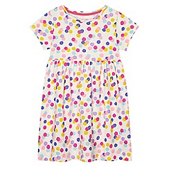 bluezoo - Girls' multi-coloured spotted dress