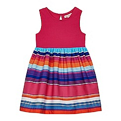 bluezoo - Girls' multi-coloured striped skirt dress