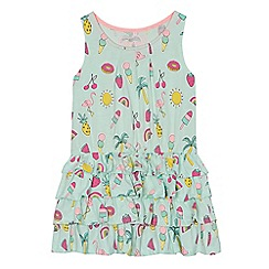 bluezoo - Girls' multi-coloured printed rara dress