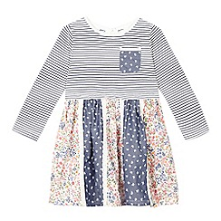 Mantaray - Girls' multi-coloured patterned dress