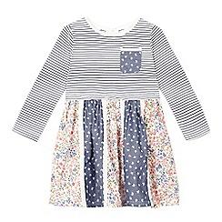 Mantaray - Girls' multi-coloured patterned dress