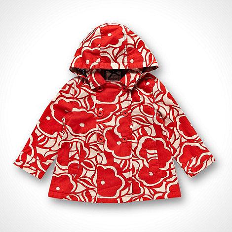 J by Jasper Conran - Designer girl+s red floral mac