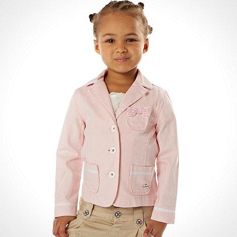 J by Jasper Conran - Designer girl+s pink woven blazer