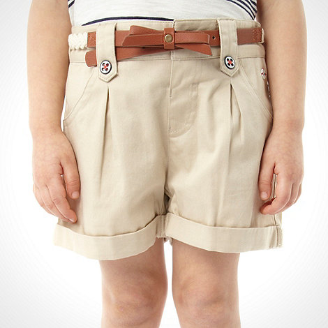 J by Jasper Conran - Designer girl's tan shorts