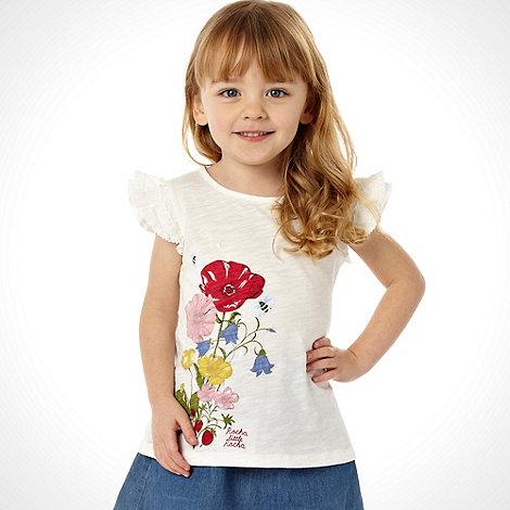 RJR.John Rocha - Designer girls white floral print top