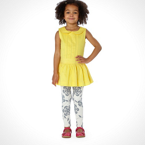 RJR.John Rocha - Designer girl+s yellow tunic and legging set
