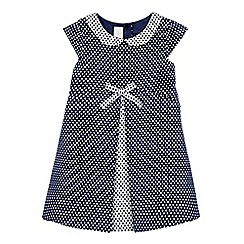 J by Jasper Conran - Girls' polka dot print woven dress