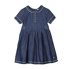 J by Jasper Conran - Girls' blue denim shirt dress