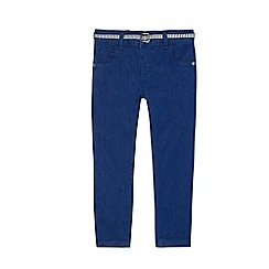 J by Jasper Conran - Girls' blue belted jeans