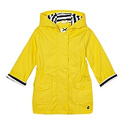 J by Jasper Conran - Girls' yellow fisherman jacket