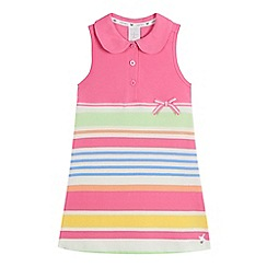 J by Jasper Conran - Girls' multi-coloured striped tennis dress