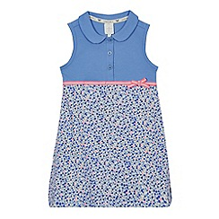 J by Jasper Conran - Girls' lilac floral print dress
