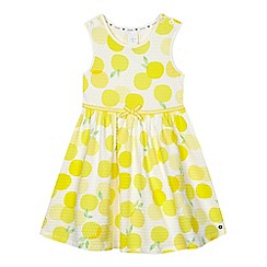 J by Jasper Conran - Girls' yellow lemon dress