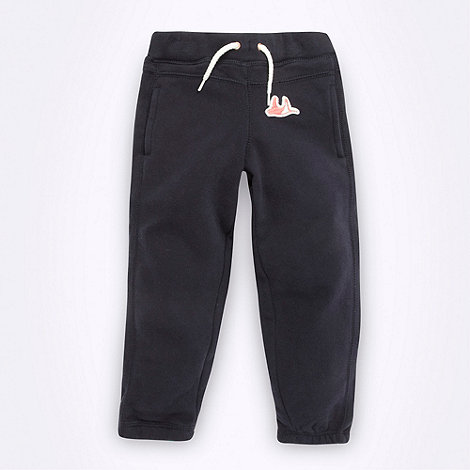 Mantaray - Girl+s navy cuffed jogging bottoms